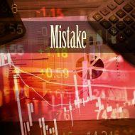 Основные ошибки трейдеров на рынке Форекс