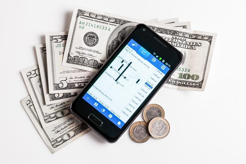 Торговля Валютой на рынке форекс через мобильное устройтво